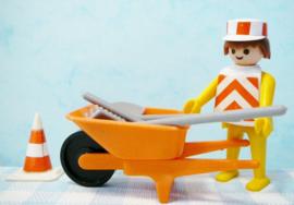 Vintage Playmobil set no. 3313 bouwvakker - 1974