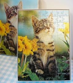 Vintage puzzel Linda Toys 147 - Kitten