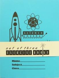 Set 3 schoolschriften `Vintage` - 3 excercise books