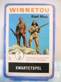 Oud kwartetspel Winnetou Karl May