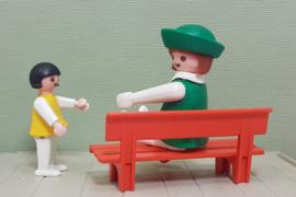 Playmobil 3597 moeder met  kleuter - jaren 80