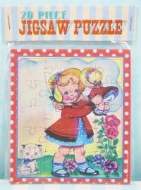 Mini puzzel `Dolly Girl` - Mini jig saw puzzle