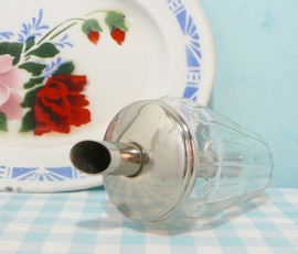 Vintage glazen suikerstrooier Hella Germany