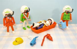 Playmobil 3845 Air Rescue Helicopter - Playmobil ziekenhuis