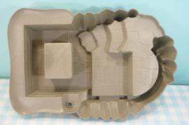 Playmobil 4133 Ridders superset onderdeel rotsen kasteel