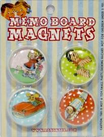 Memo Board Magnets - Magneetjes