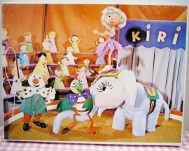 Kiri de Clown puzzel 1973