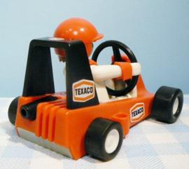 Vintage Playmobil  set 3575 - figuur met racewagen