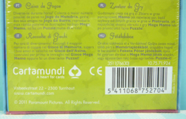 Kuifje Mega Memo 4 in 1 spellendoos - Cartamundi 2011