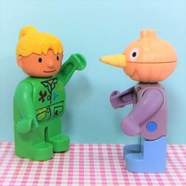 Lego Duplo Bob de Bouwer figuur Spud