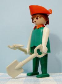 Vintage Playmobil piraten - groene piraat 1974 /1981