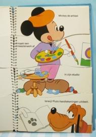 Walt Disney`s Mickey Mouse aan het werk. Mulder 1979.