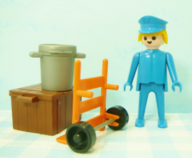 Vintage Playmobil set 3323 station - 1974 /1981