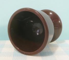 Emsa W. Germany eierdopje - bruin