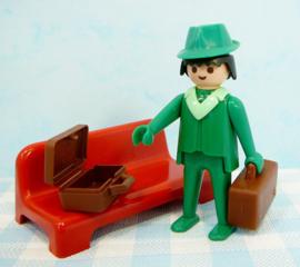 Vintage Playmobil set 3321 station - 1976/1978