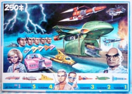 Vintage Thunderbirds puzzel - King 1993