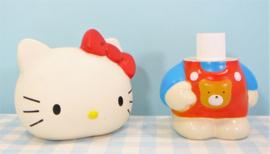 Vintage Hello kitty figuurtje shampoo fles - Sanrio 1994