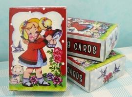 Mini speelkaarten Dolly Girl
