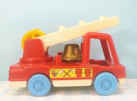 Vintage Matchbox Live-n-Learn brandweerauto - 1975