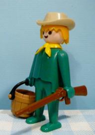 Vintage Playmobil figuur cowboy - 1974