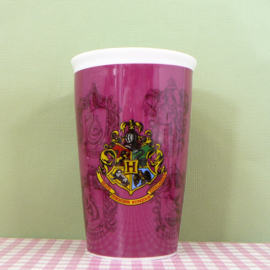 Harry Potter beker met logo - 14 cm