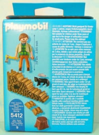 Playmobil special plus 5412  houthakker - Playmobil bos