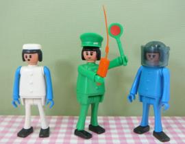 Vintage set BIC figuren - nep Playmobil jaren 70/80