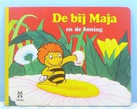 De bij Maja en de honing - Retro Maja de Bij boekje