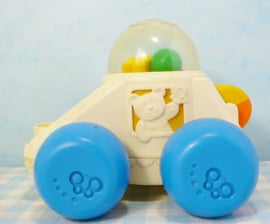 Vintage Fisher Price no. 1011 Poppity Pop Car auto - 1987