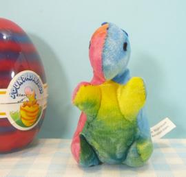 Soundasaurus vintage Dinosaurus knuffel figuur - Chosun  1989