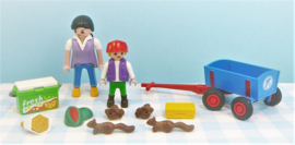 Playmobil 4467 Dierentuin bezoekers - Playmobil dierentuin