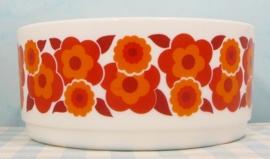 Arcopal France Lotus schaal 21 cm rood/oranje