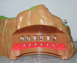 Vintage Thunderbirds eiland - Carlton 2000