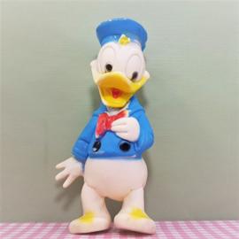 Vintage Donald Duck Disney Squeaky figuur of piepfiguur