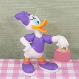Bullyland Disney figuur - Katrien Duck met handtas