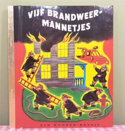 Gouden Boekje - Vijf Brandweer Mannetjes