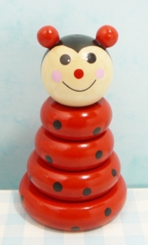 Houten speelgoed lieveheersbeestje - Wooden toy