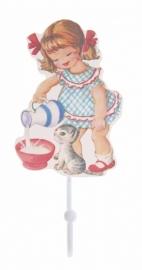 Haakje `Heidi melkmeisje` - Little girl hook