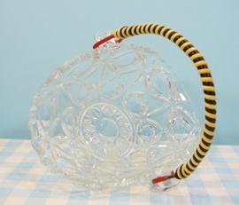Fifties bonbon schaaltje - glas