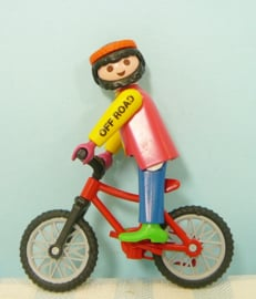 Playmobil 3712  Off Road fietser - Playmobil sport