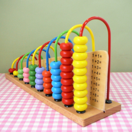 Houten speelgoed telraam
