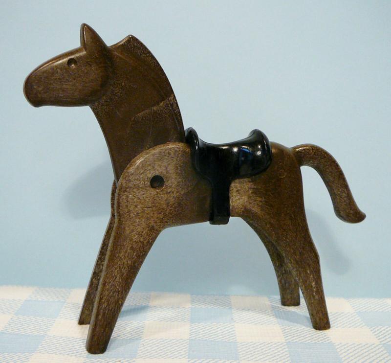 Vintage Playmobil paard bruin - 1974