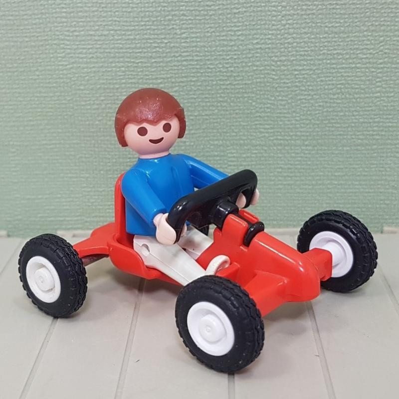 Playmobil 3358 jongen met skelter - jaren 80