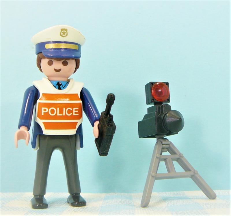 Playmobil 4900 verkeerspolitie -  Politie