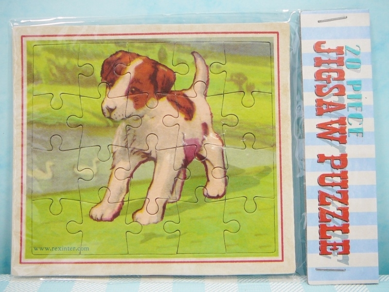 Mini puzzel Hondje` - Mini jig saw puzzle