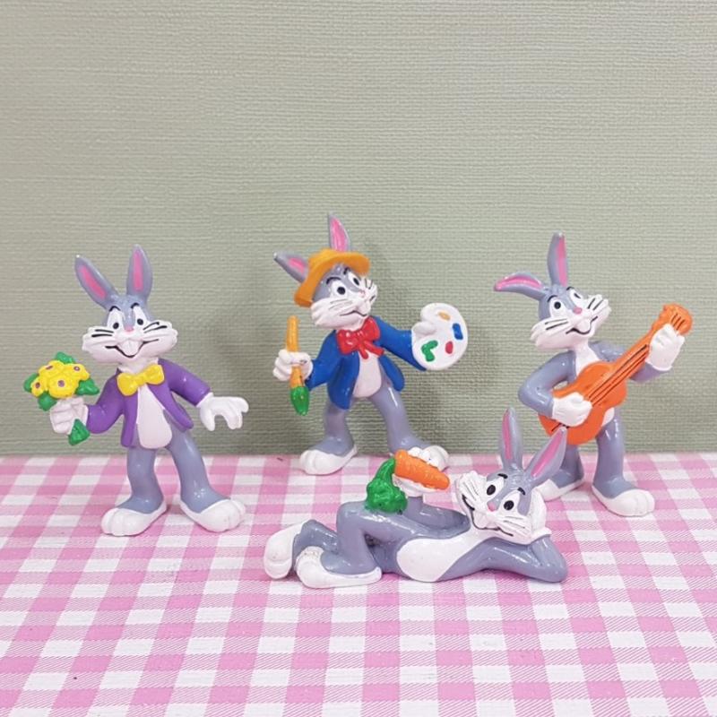 Vintage Bullyland Looney Tunes Bugs Bunny figuren - 1983