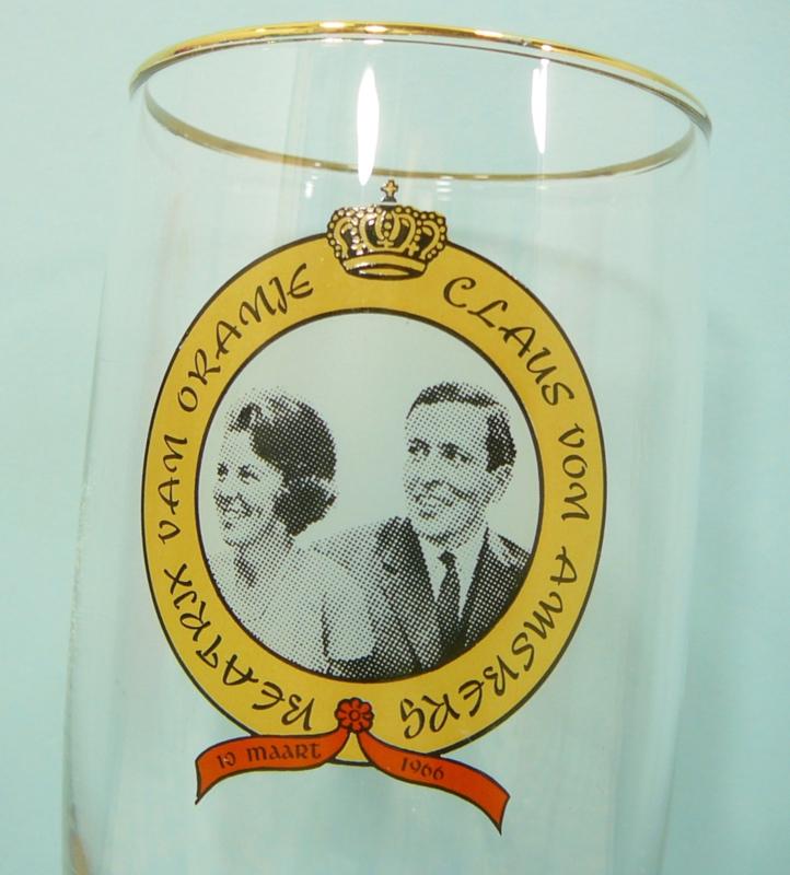 Retro beker Koningin Beatrix 30-04 1980. Je Maintiendrai.