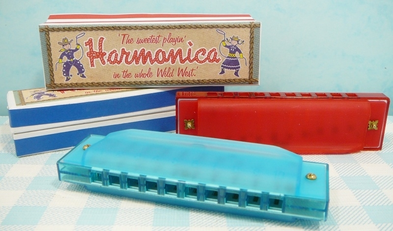 Mondharmonica `Cowboy` muziekinstrument