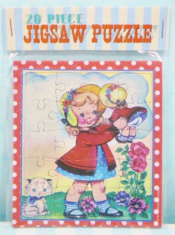 Mini puzzel `Dolly Girl` - Mini jig saw puzzle