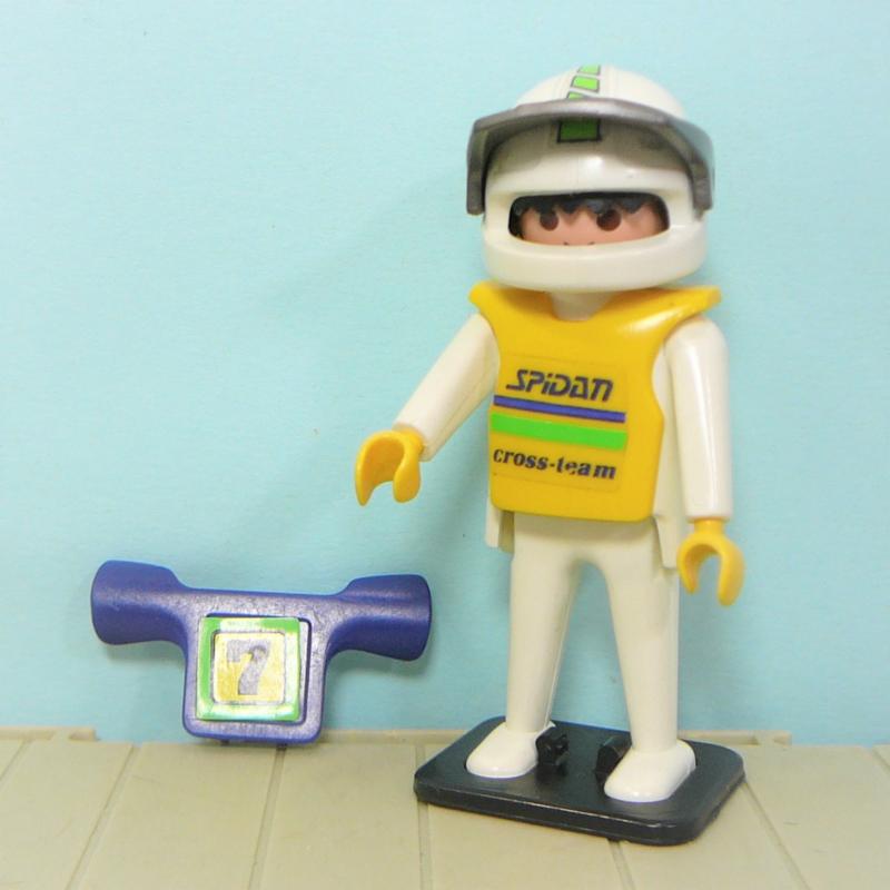 Vintage playmobil 3101 figuur motorcross - Playmobil motoren